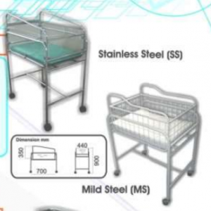 Baby Cot with Trolley (SS) MLY 501 – 020 (2010-S)