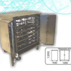 Food Trolley Close Big Type (SS) MLY (6000-S)