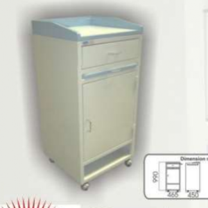 Bedside Locker with Pull Out Shelf (MS) MLY 504-050 (3020)