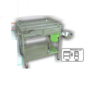 Dressing Trolley (SS) MLY 510-030 (4030-S)
