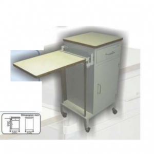 Bedside Locker Combined with Overbed Table (MS) MLY 504-020 (3040)
