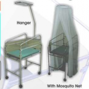 Baby Cot with Trolley & Hanger Mosquito Net (SS) MLY 501 – 030 (2020-S)
